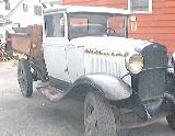 44k photo of late 1931 Ford AA dumptruck