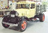 37k photo of late 1931 Ford AA stakebed truck of Bob Pearson