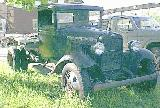 57k photo of late 1931 Ford AA flatbed truck of Ken Manninen