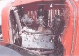 22k photo of 1933 Ford V8, engine