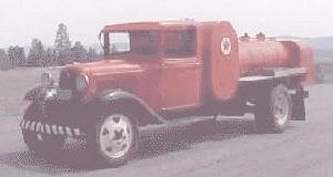 1933 Ford V8 900 gallon fuel tanktruck
