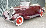 31k photo of 1934 Ford V8 rumbleseat cabriolet
