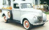 31k photo of 1940 Ford V8 0,5-ton pickup