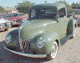 41k photo of 1940 Ford V8 pickup