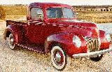 40k photo of 1940 Ford V8 pickup