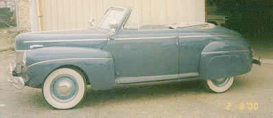 1940 Ford V8 Super DeLuxe convertible