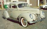 27k photo of 1940 Ford V8 DeLuxe opera coupe