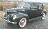 38k photo of 1940 Ford V8 DeLuxe Tudor sedan