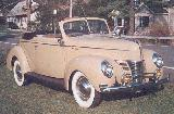 73k photo of 1940 Ford V8 DeLuxe convertible