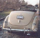41k photo of 1940 Ford V8 DeLuxe convertible