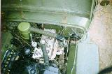 21k photo of 1944 Ford GPW, motor compartment