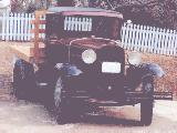 41k photo of 1930 Ford AA flatbed
