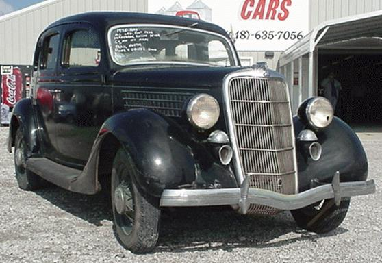 Oldtimer gallery cars 1935 ford v8 48 for Classic cars on ebay motors