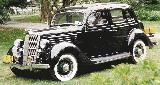 67k photo of 1935 Ford DeLuxe fordor touring sedan
