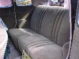 32k photo of 1935 Ford slantback fordor sedan, interior