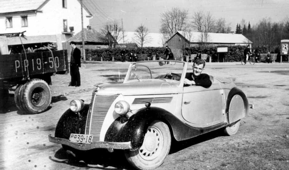 German Cars For Sale >> Oldtimer gallery. Cars. Ford-Eifel (1936-1939).