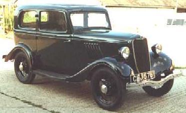 2-door saloon ... & Oldtimer gallery. Cars. Ford (British). markmcfarlin.com