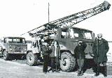 44k image of GAZ-66 drill and standard platform trucks