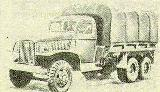 18k image of 6x4 GMC CCW-353 without winch