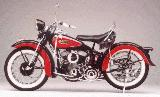 25k photo of civilian 1942 Harley-Davidson WLA