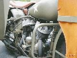 24k photo of 1942 Harley-Davidson WLA, engine