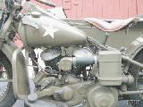 22k photo of 1942 Harley-Davidson WLA, engine