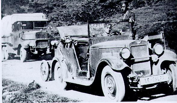 Hanomag 4/20 PS , 1089cc, 1930-1931, 67k b/w photo from Reinhard Frank