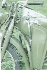 90k photo of Harley-Davidson WLA, tank