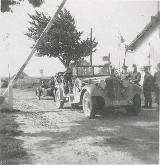 41k 1940 photo of Horch 830R Kfz.15 of Luftwaffe, German-Dutch boundary