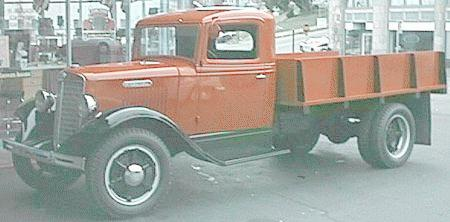 International Trucks For Sale >> Oldtimer gallery. Trucks. 1934-1936 International C.