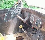 26k photo of 1935 International C1 paddy wagon, dashboard