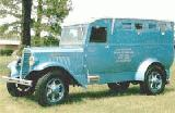 11k photo of 1935 International C30 Federal Reserve Bank armoured truck by John C.Dix Co., Memphis, TN