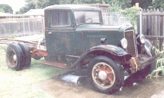 Oldtimer gallery. Trucks. 1934-1936 International C.