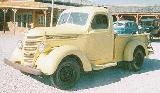 24k photo of 1937 International 0,5-ton pickup