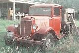 16k photo of 1937 International C30 dumptruck