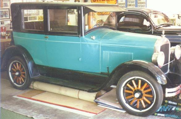 Oldtimer Gallery Cars 1925 Jewett Six