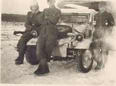 WW2 photo of KdF-82, in Russia