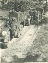 68k 1943-44 photo of Krupp Protze Kfz. 70, Armoured Paratroopers Regt, Sicily, Italy