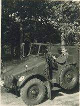 60k 1943-44 photo of Krupp Protze Kfz. 70, Armoured Paratroopers Regt, Sicily, Italy