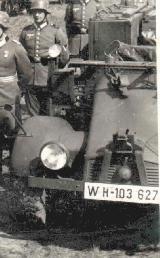 68k WW2 photo of Krupp Protze Kfz. 69