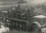 94k WW2 photo. Borgward HL m 11 of Wehrmacht Heer, near Rovno, USSR