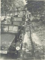 56k 1943-44 photo of Krupp Protze Kfz. 70, Armoured Paratroopers Regt, Sicily, Italy