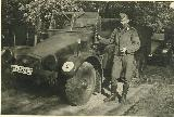 62k 1943-44 photo of Krupp Protze Kfz. 70, Armoured Paratroopers Regt, Sicily, Italy