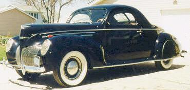 Oldtimer gallery cars 1939 lincoln zephyr for 1939 lincoln zephyr 3 window coupe