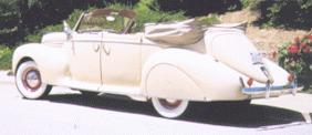 1939 Lincoln Zephyr convertible sedan