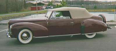 oldtimer gallery cars 1940 lincoln zephyr. Black Bedroom Furniture Sets. Home Design Ideas