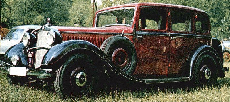 oldtimer gallery cars mercedes benz 290 lang. Black Bedroom Furniture Sets. Home Design Ideas