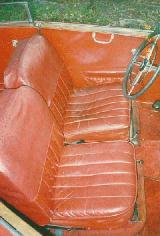 36k photo of 1937 Mercedes-Benz 170V front seat