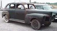 1941 Mercury 4-door Sedan