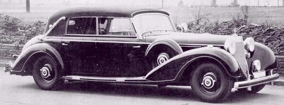 Oldtimer gallery cars mercedes benz 770 w150 grosser for Mercedes benz 770